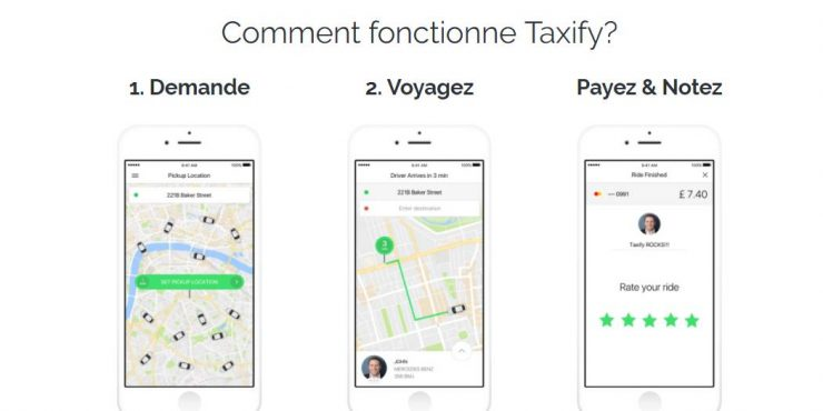 code parrainage taxify