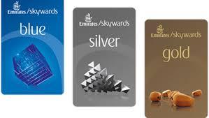 Emirates skyward carte fidélité