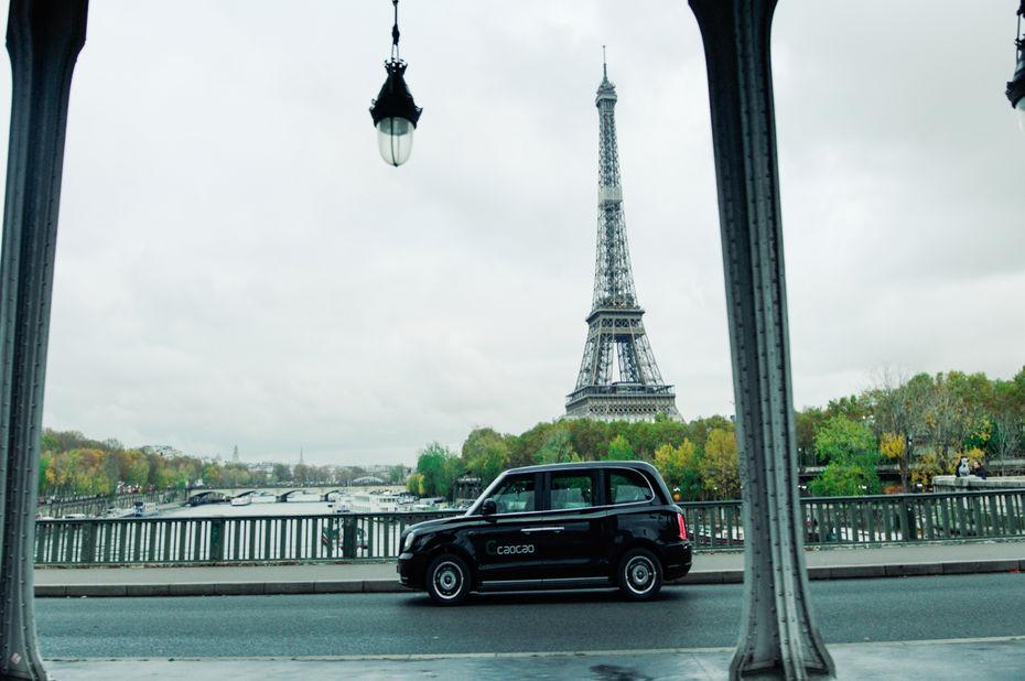 CaoCao VTC chinois Paris